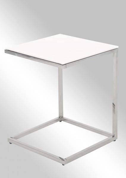 Couchtisch Chic II • Weiß Glas 8 mm