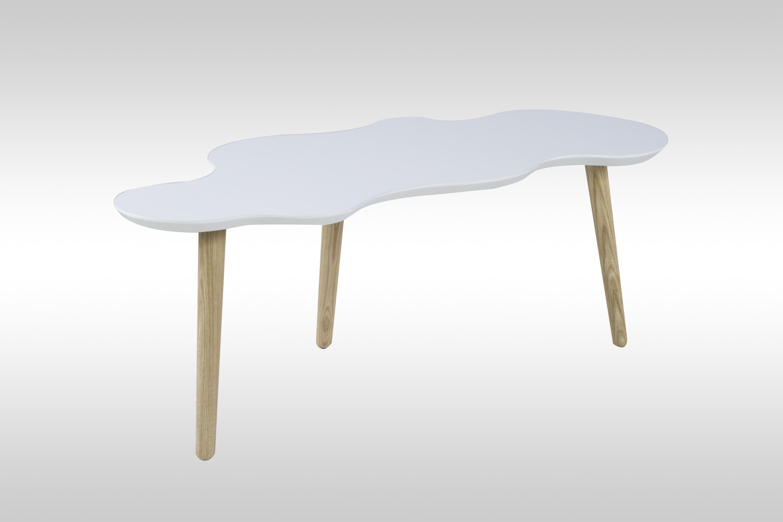 m bel haus 24 couchtisch toronto wei matt. Black Bedroom Furniture Sets. Home Design Ideas