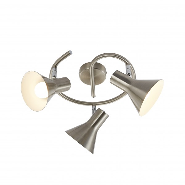Nino LED Spotleuchte - CORK 3Flg Spirale Serie
