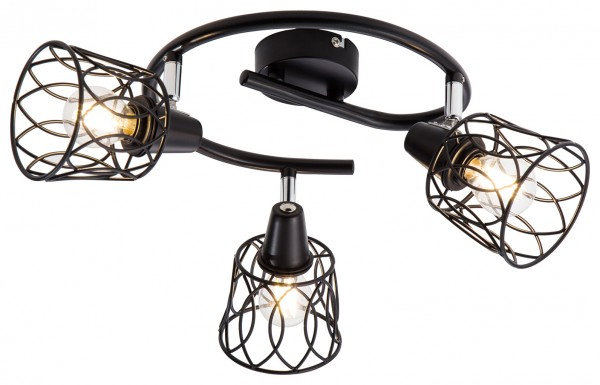 Nino LED Spotleuchte - WIRE 3Flg Spirale Serie