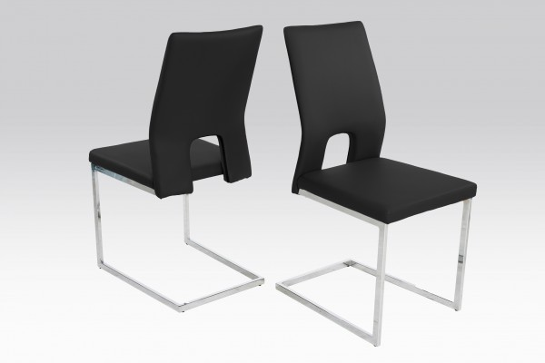 Schwingstuhl - Stuhl Jim / Schwarz ( 4er Set )